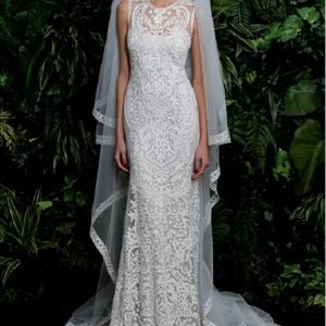 Naeem Khan Valencia Beaded Wedding Dress